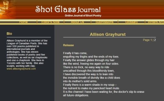 Shot Glas Journal Release