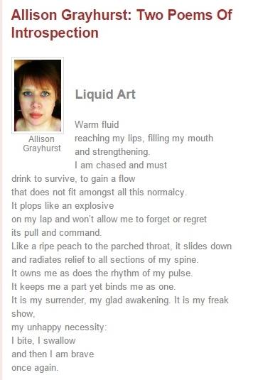 Versewrights liquid art