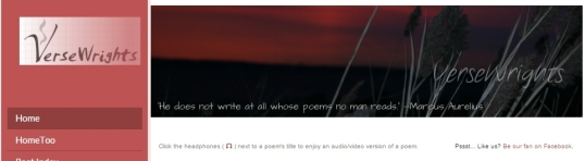 Versewrights two poems
