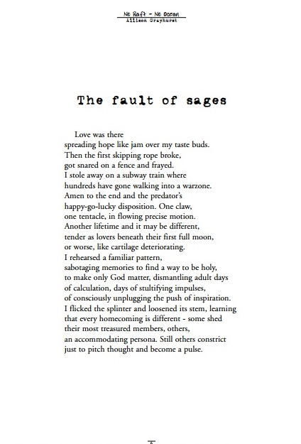the fault of sages 1