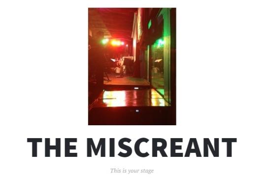 The Miscreant 1