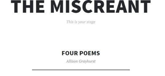 The Miscreant 3