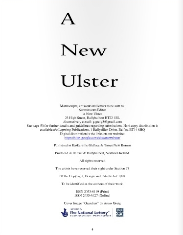 A New Ulster 3