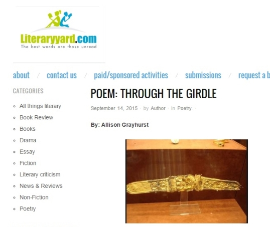 Literaryyard Through the girdle 1