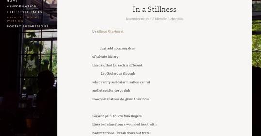 Eye on Life In a Stillness 1