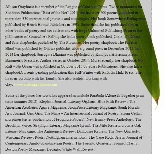 Green King Poem 3