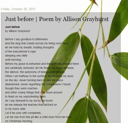 Green King Poems 2