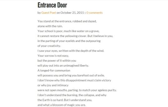 Madswirl entrance door 2