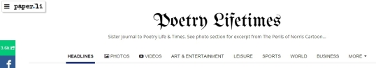 Poetry Lifetimes 1