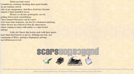 Scars desires traversed 3