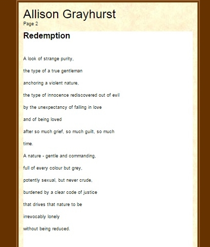 PoetryMagazine winter Redemption