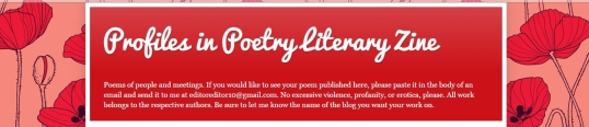 Profiles in Poetry interview 1