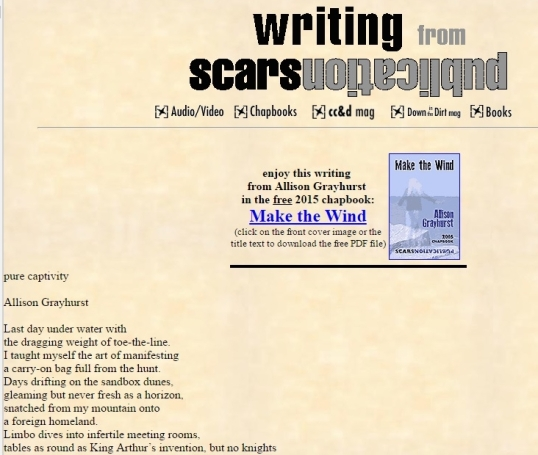Scars pure captivity 1