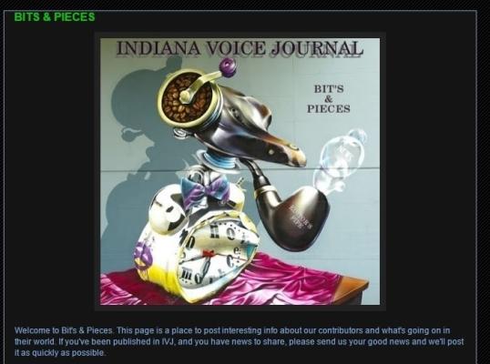 Indian Voice Journal Bits & Pieces 1
