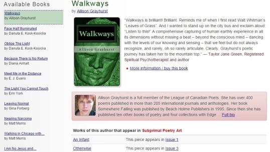 Subprimal book Walkways 2
