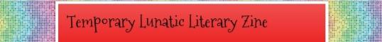 Temporary Lunatic Literary Zine Nov second 1