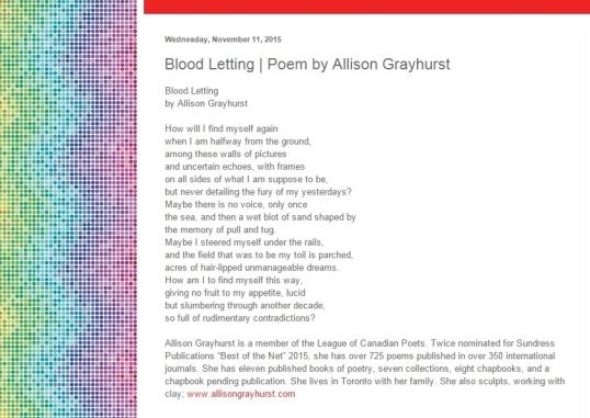Temporary Lunatic Literary Zine Nov second 2