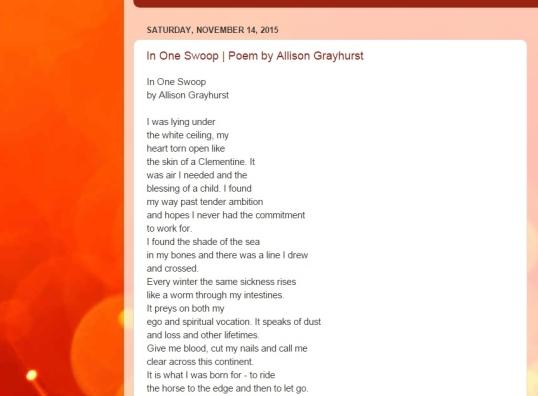 Tanger Heart Nov four 2