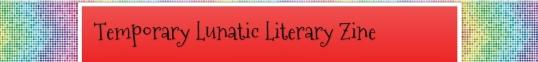 Temporary Lunatic Literary Zine Nov four 1