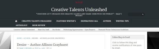 Creative Talents Desire 1