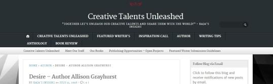 Creative Talents Desire 1