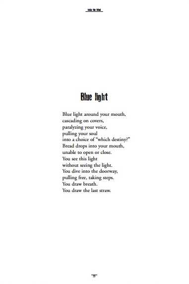 Make the Wind blue light