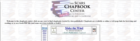 Make the Wind Scars 1
