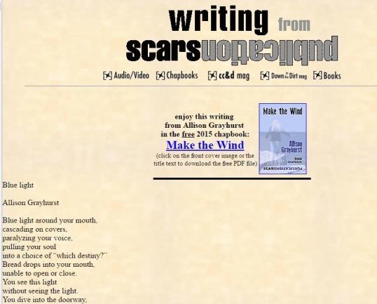 Scars Blue Light 1