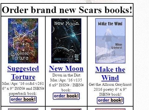Scars Make the wind in print 2