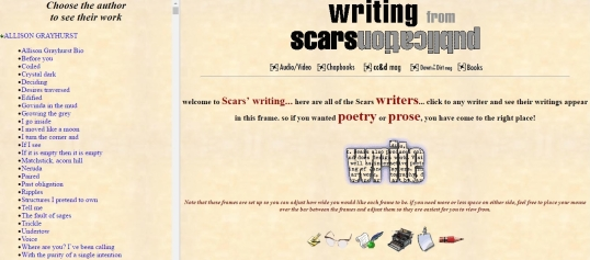 Scars writing