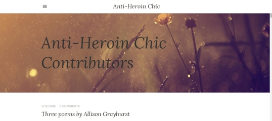 Anti Heroin Chic 1