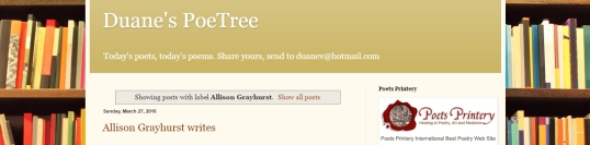 Duane's Poetree Replenished
