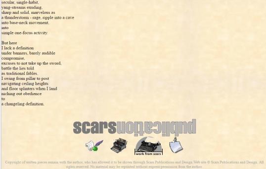 Scars I am definition 2