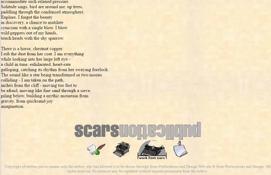 Scars riding bareback 2