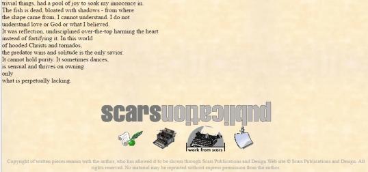 Scars Too damaged 2