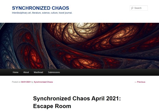 Synchronized Chaos April 2021 1