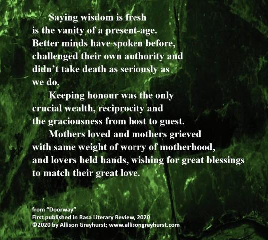 Allison Grayhurst - excerpt from Doorway (2)