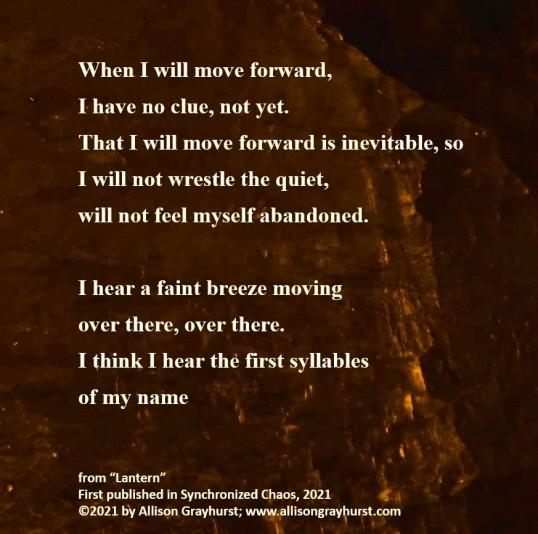 Allison Grayhurst - excerpt from Lantern (6)