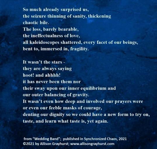 Allison Grayhurst - excerpt from Wedding Band (5)