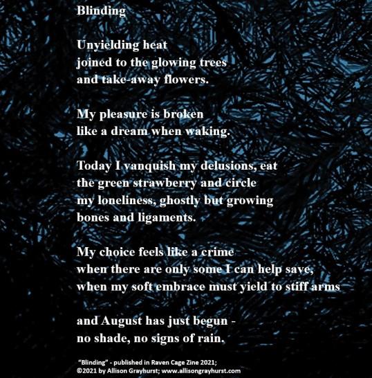 Allison Grayhurst - photo poem - Blinding (2)